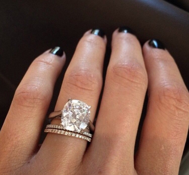 Yes I Want A Car On My Hand 3 Carat Cushion Cut In Rose