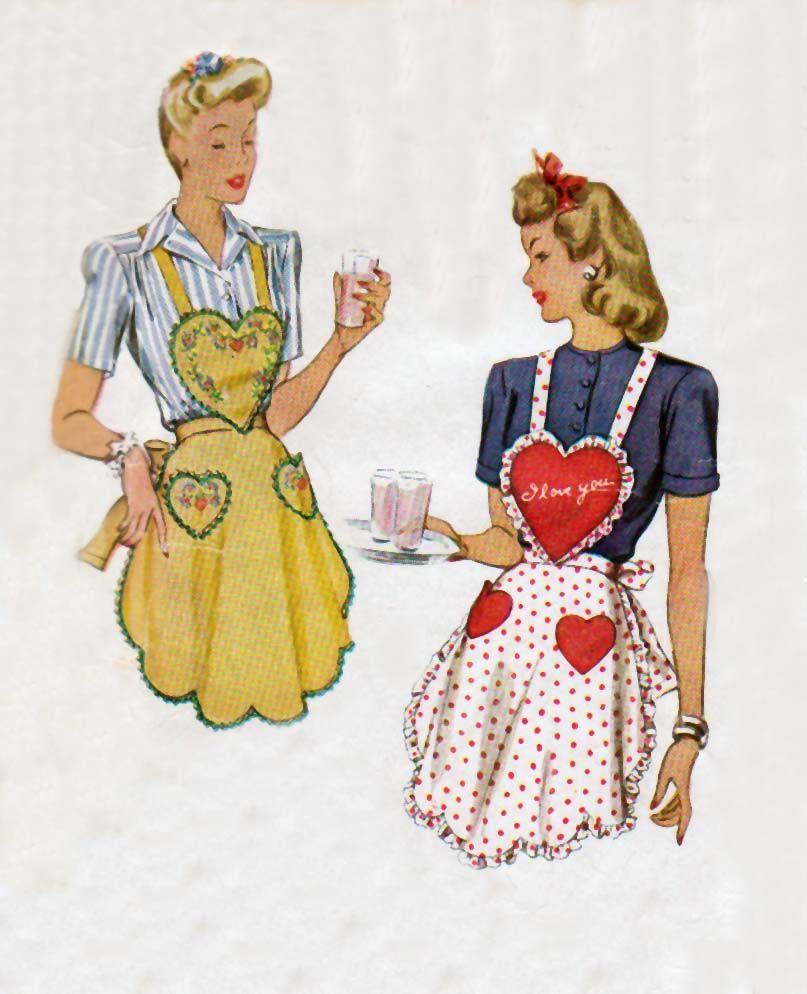 Vintage Apron Patterns Unique Inspiration Ideas