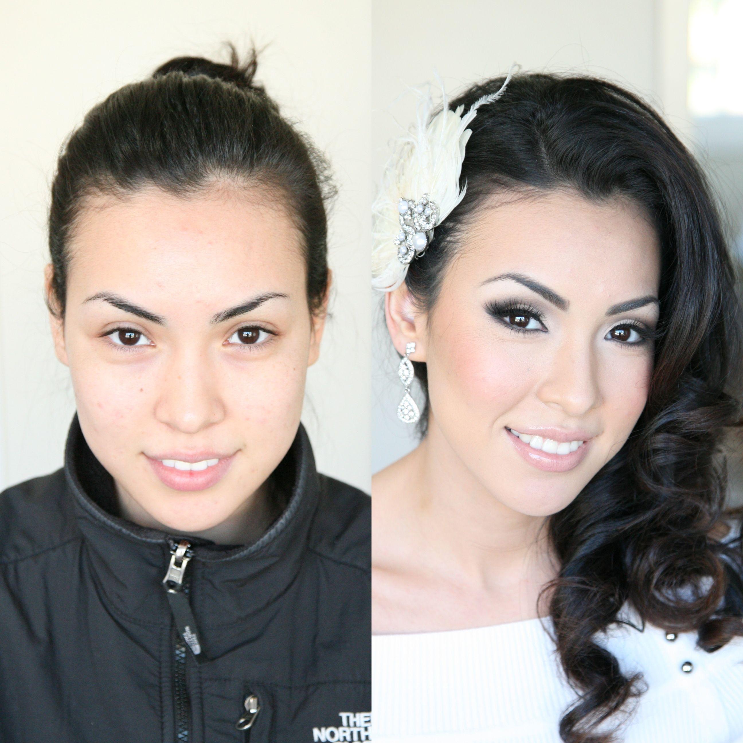Before & After ‹ Portland Wedding Makeup Artist Wedding