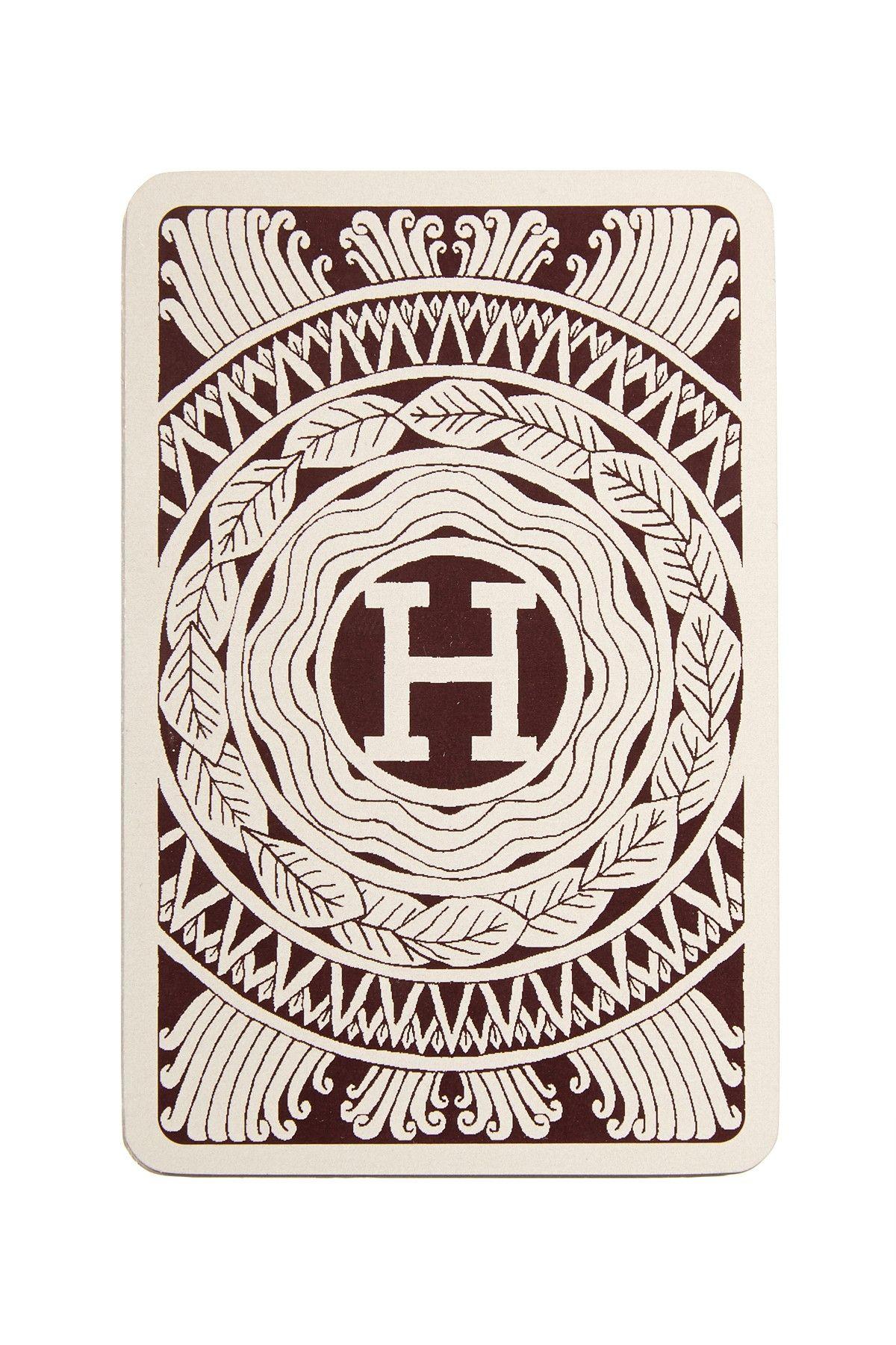 Vintage Hermes Playing Cards Maison Carte De Visite Design Graphique Graphisme
