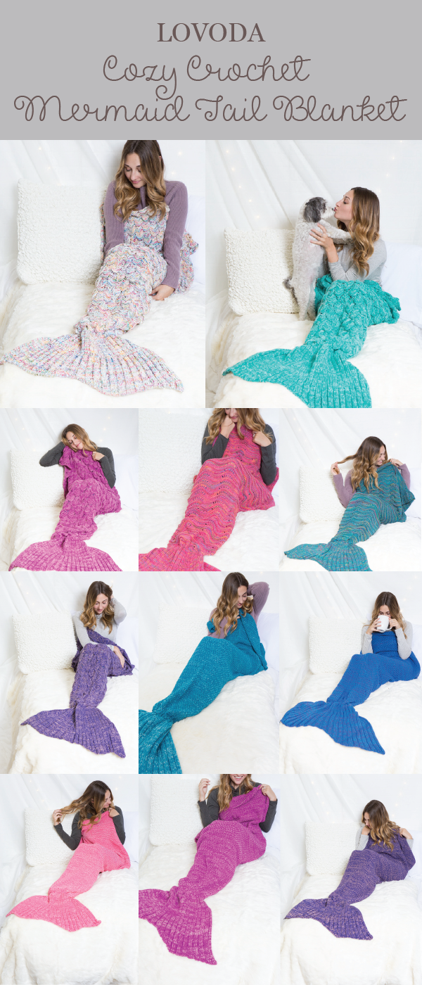 Show off your scales and bring out your inner #mermaid charm! Cozy ...