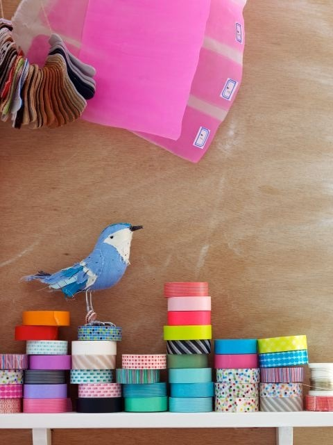 #ribbon #bird