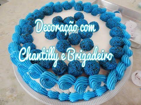 AngelicaMendes #36 -Bolo de Rosas decoração de chantilly - YouTube
