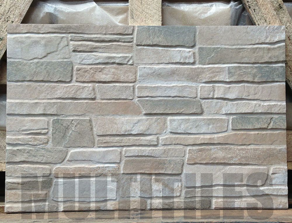 3d Ceramic Feature Wall Tiles Iq8 Stackstone Natural
