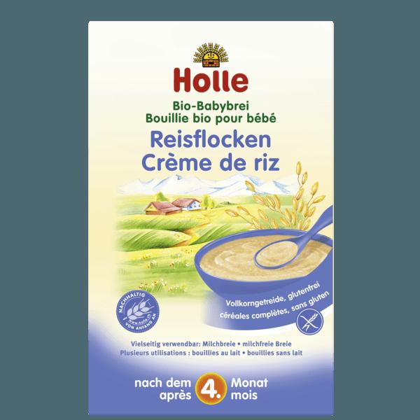 Holle Organic Rice Porridge 250g 4 Months Organic Baby Food Baby Food Recipes Organic Oatmeal