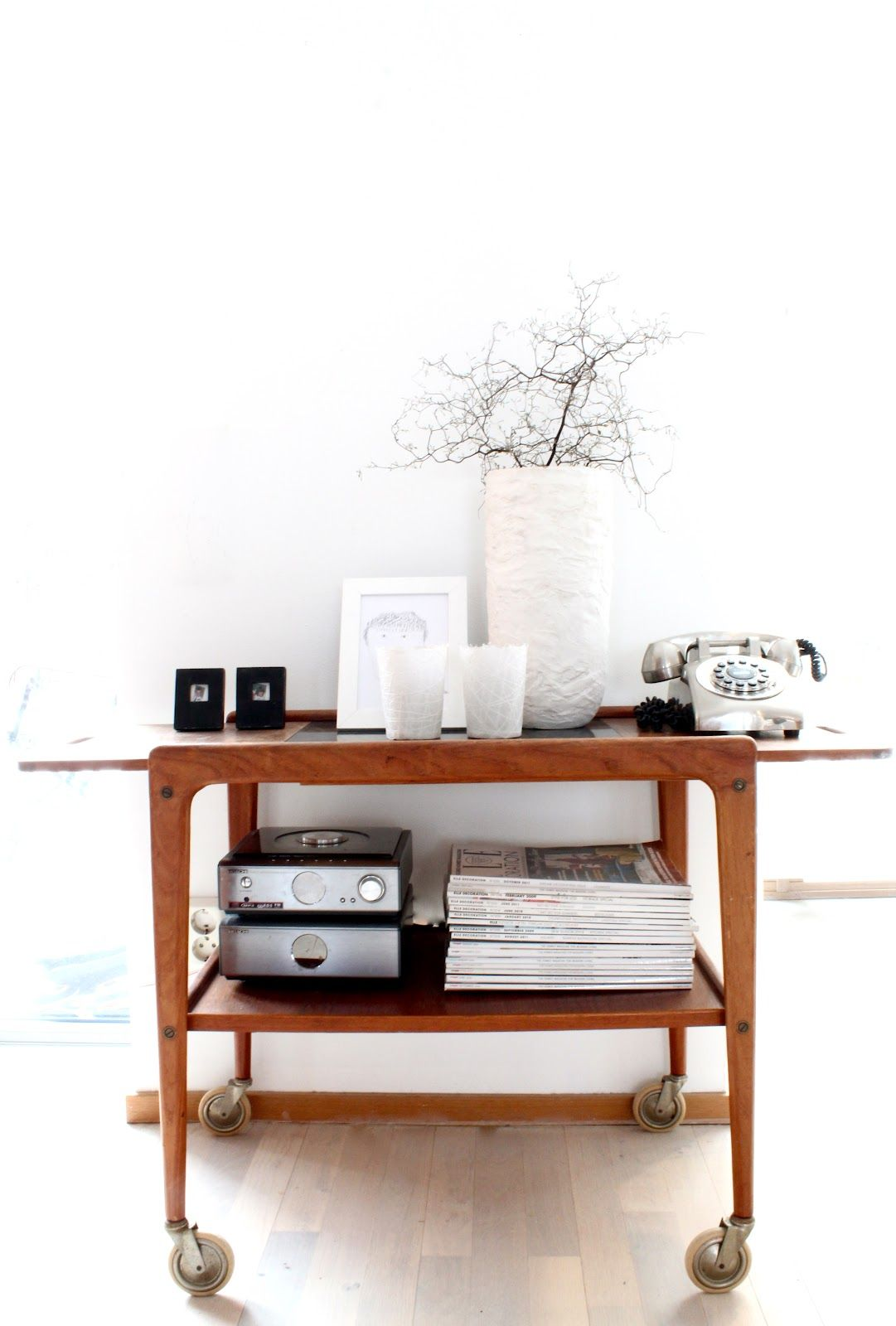 My Scandinavian Home Vintage And Mid Century Drinks Trolleys For A Refreshing Valentine S Day Interior Home Decor Scandinavian Home