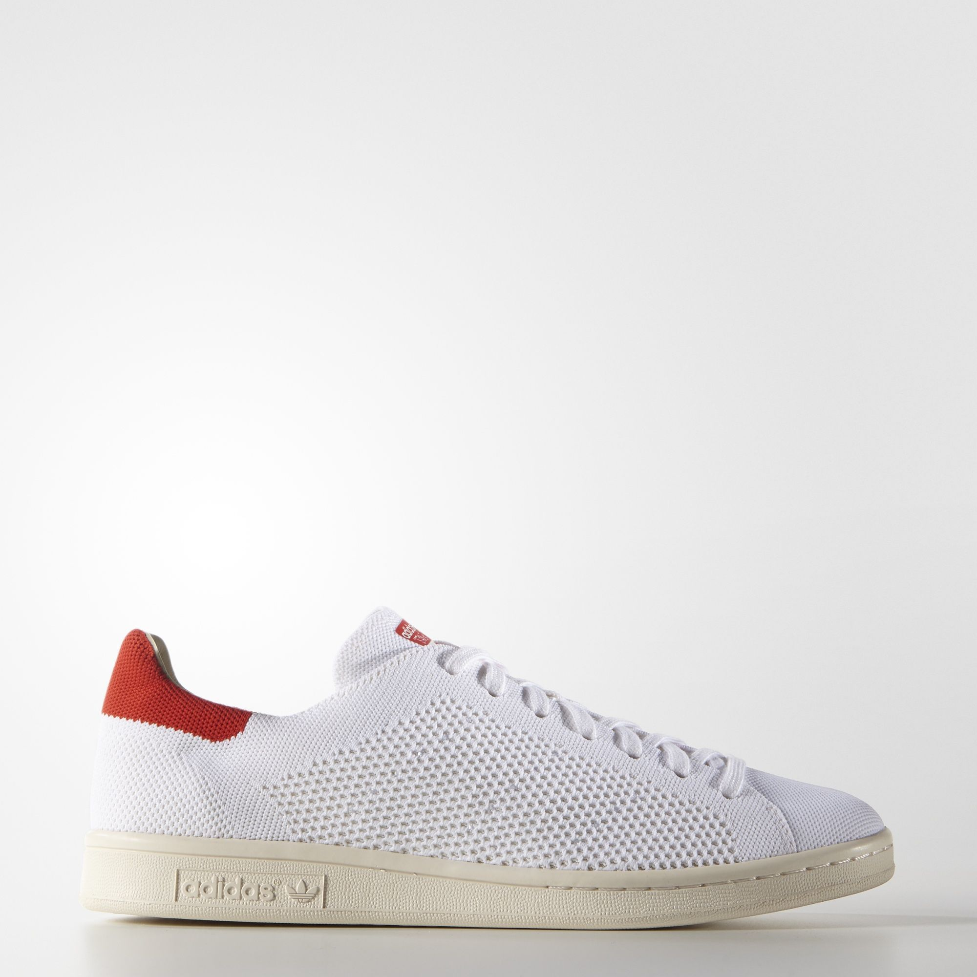 adidas Originals STAN SMITH PRIMEKNIT - Trainers - footwear white/chalk white XDxXnwe4z