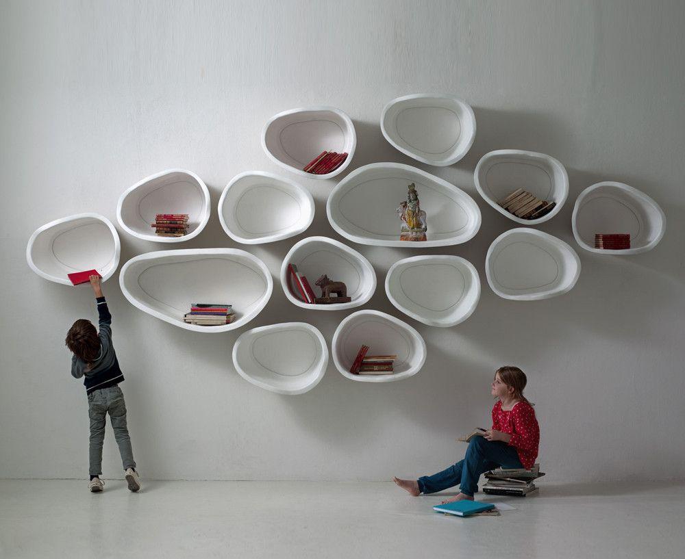 Favo Modular Wall Elements Modular Walls Shelves Wall Shelves