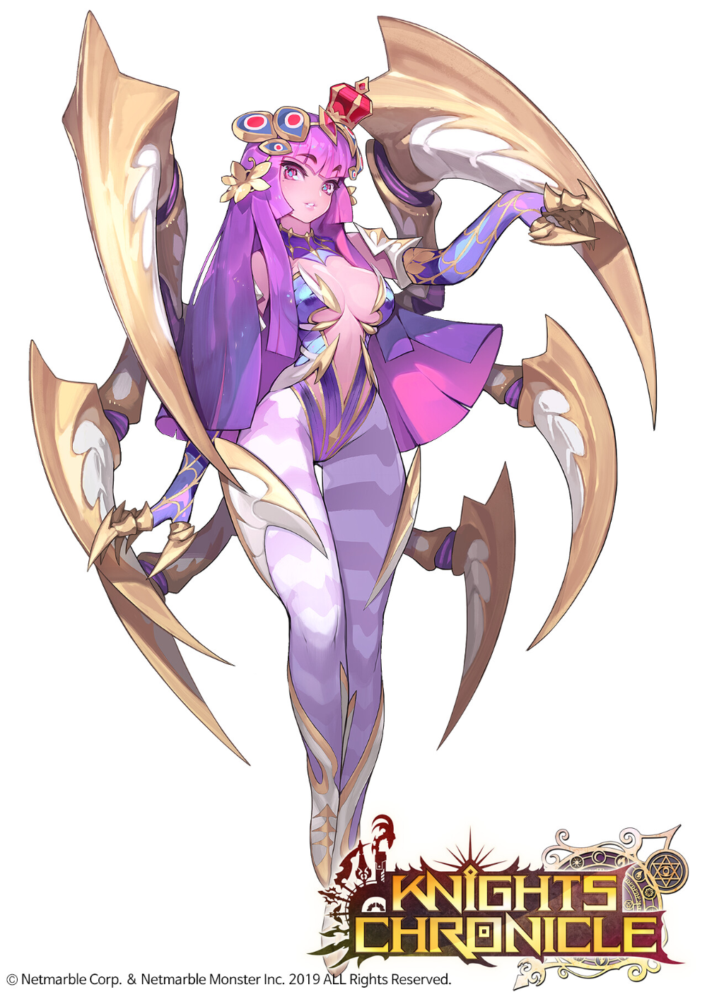 Artstation Knights Chronicle Character Illust Ma Mulook Anime Character Design Fantasy Character Design Concept Art Characters
