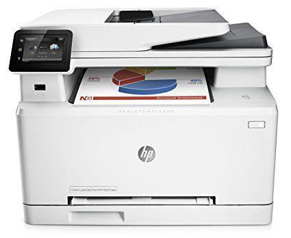 Hp Laserjet Pro M277dw Wireless All In One Color Printer I Think This Is The One To Go With Work Multifunction Printer Printer Scanner Wireless Printer