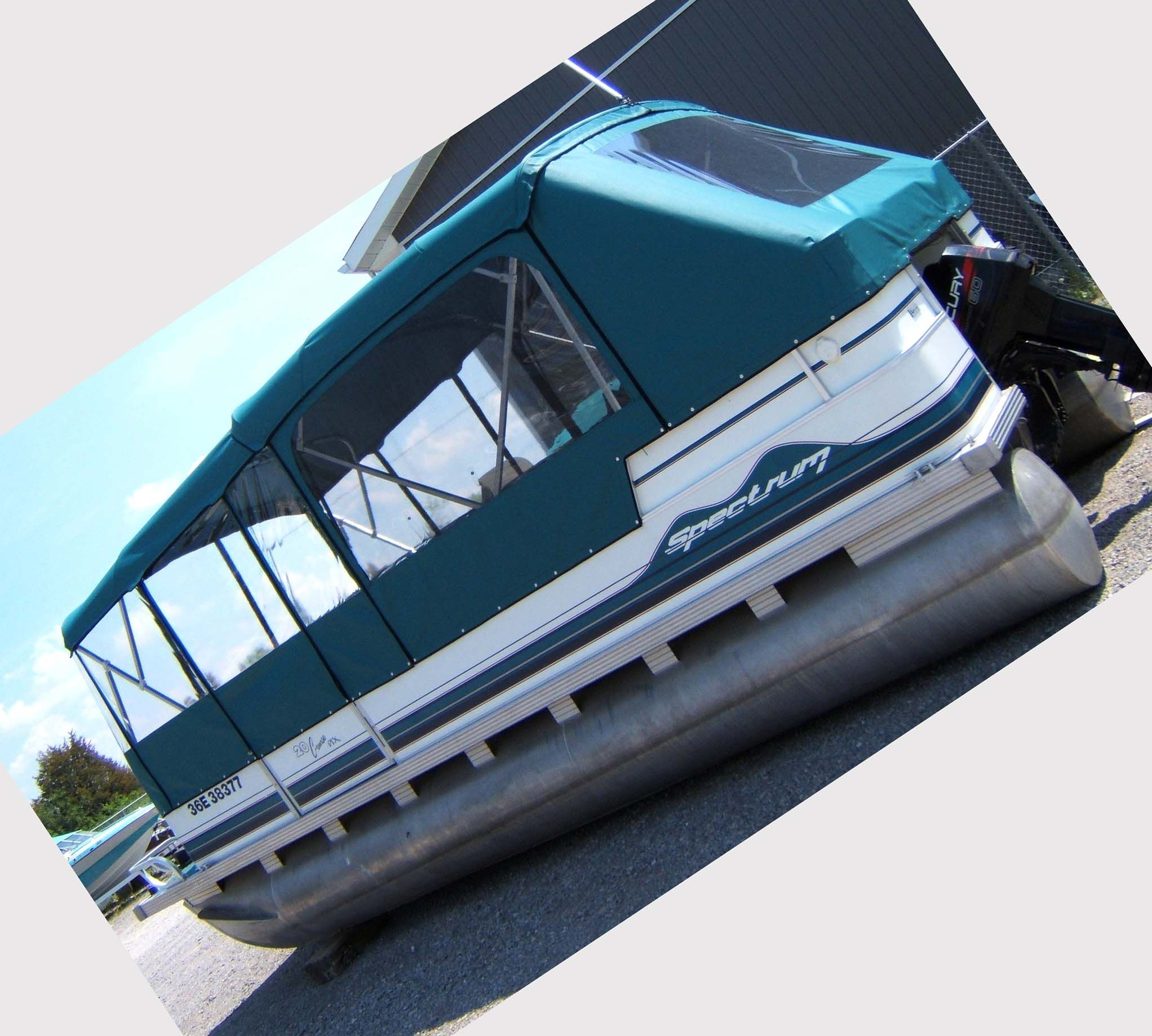 Pontoon Boat Furniture Ideas: Pontoon Boat Enclosures: