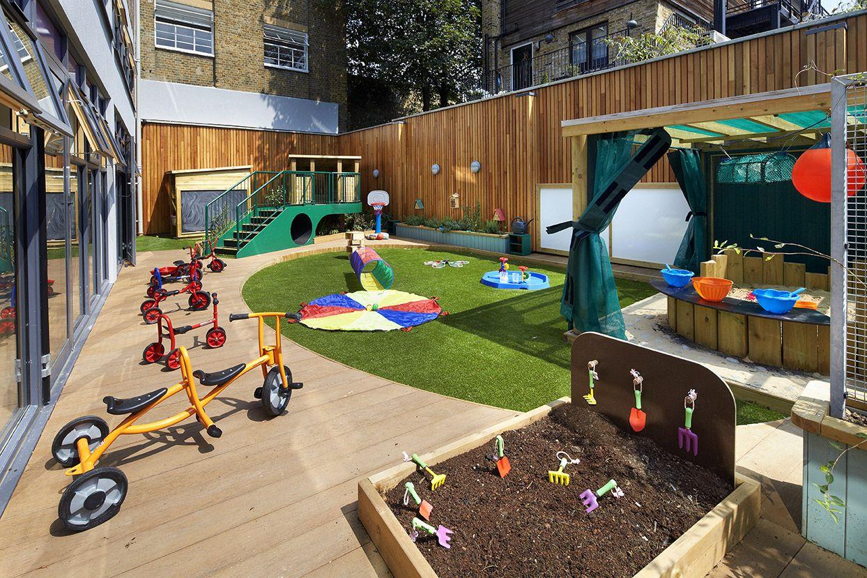 #Clapham Village #Nursery and #Preschool #Playarea #Garden ...