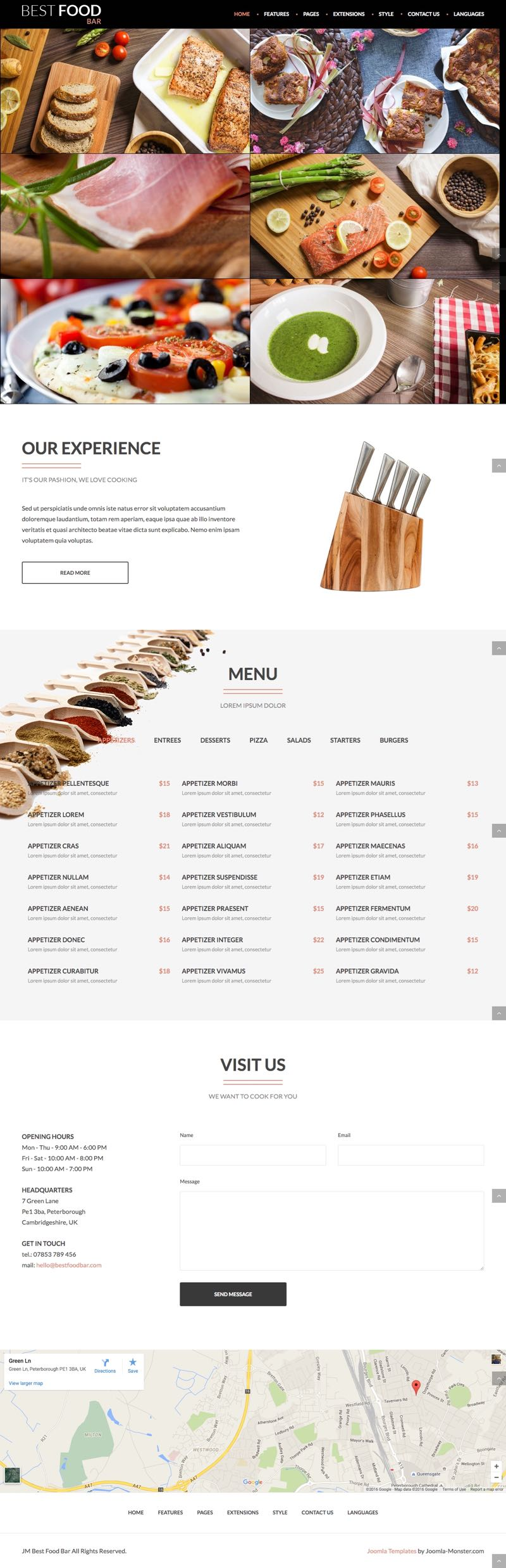 Jm best food bar joomla cooking food recipes template joomla jm best food bar joomla cooking food recipes template forumfinder Images