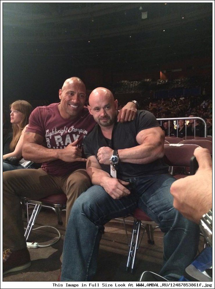 Dwayne Johnson & Branch Warren Even More Real Dads