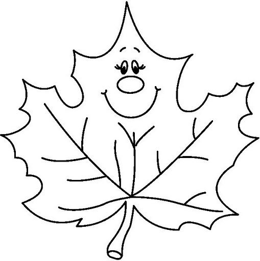 Leaves coloring page part 2 | Crafts and Worksheets for ...