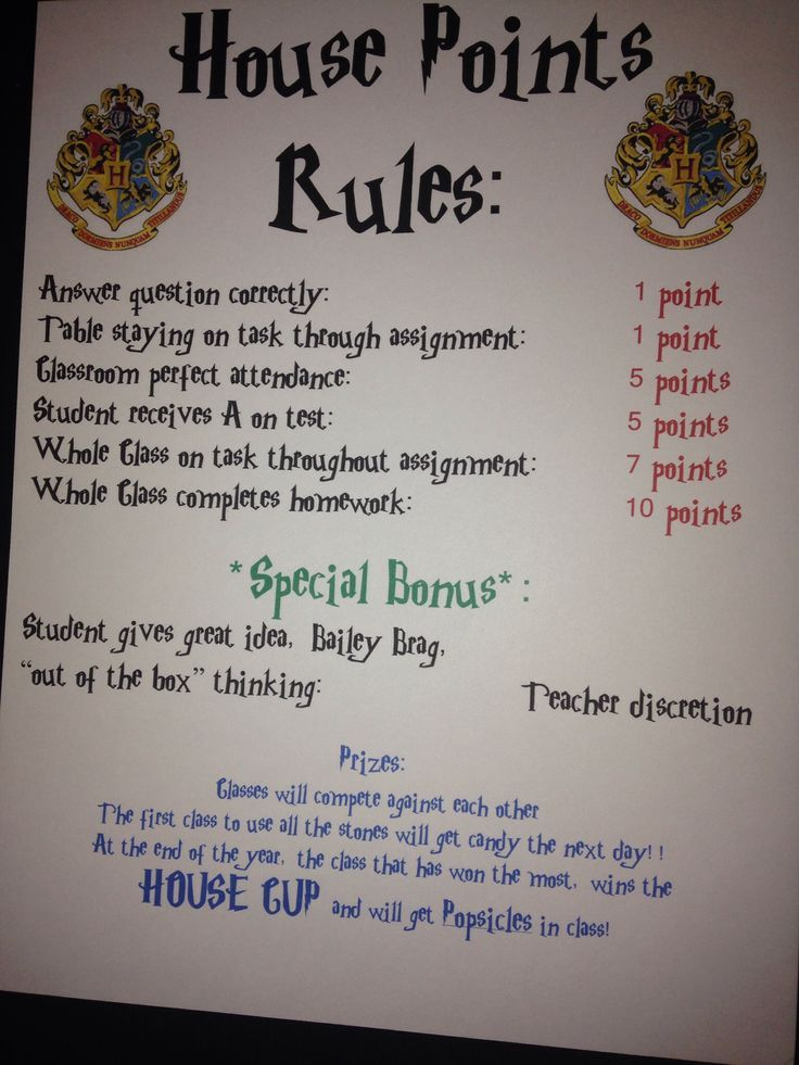 Classroom Ideas Year 7 ~ Classroom management harry potter style for middle school