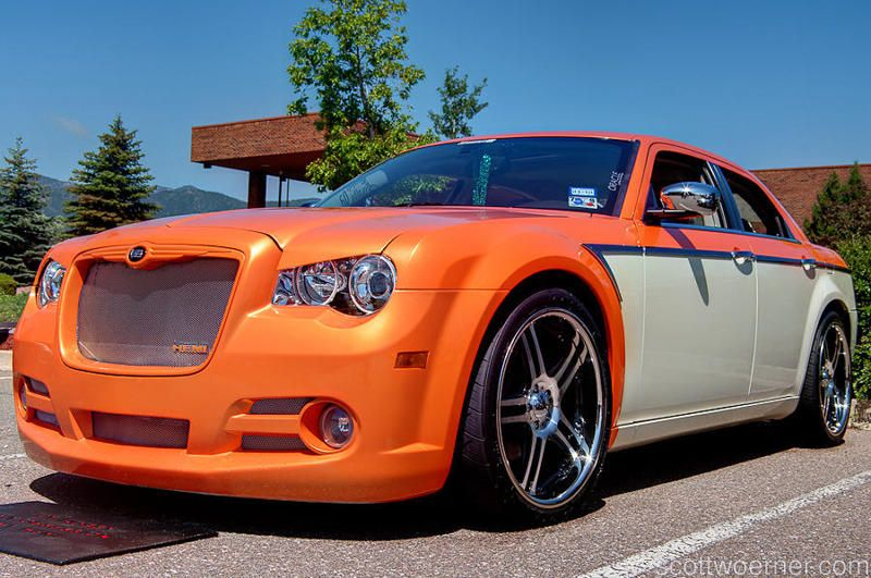 Dreamsickle Chrysler 300c With Images Candy Paint Cars