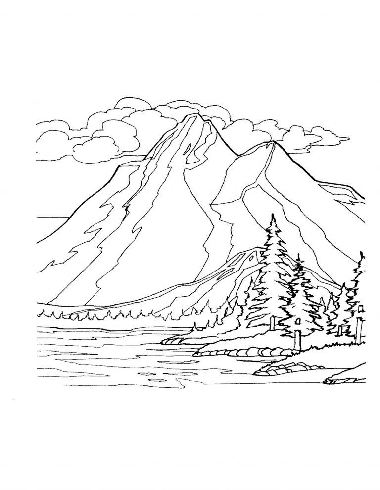 Mountains Coloring Pages Best Coloring Pages For Kids Coloring Pages Winter Coloring Pages Nature Coloring Pages