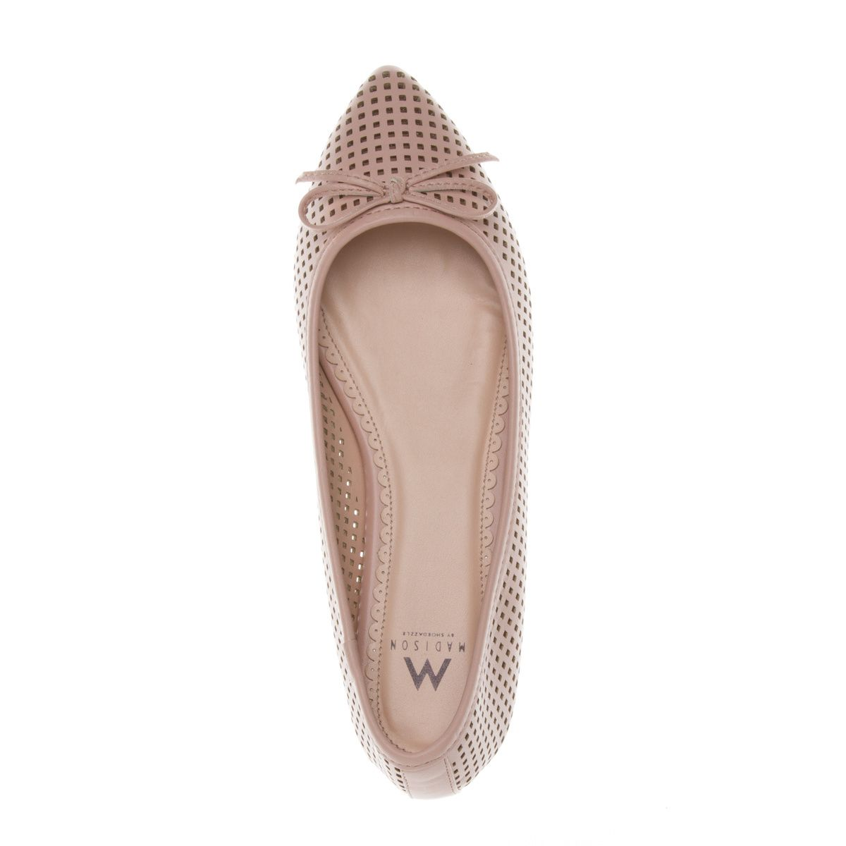 lady like perforated flats