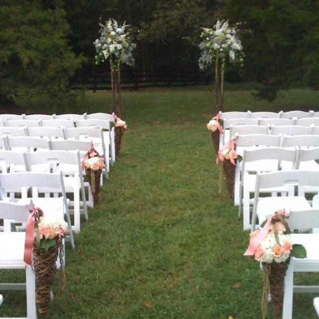Outdoor Wedding Ceremony Decoration Ideas: Wedding Ceremony Decorations Outside