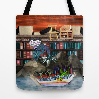 Books are just words on paper until your imagination gives them wings Tote Bag by Donuts