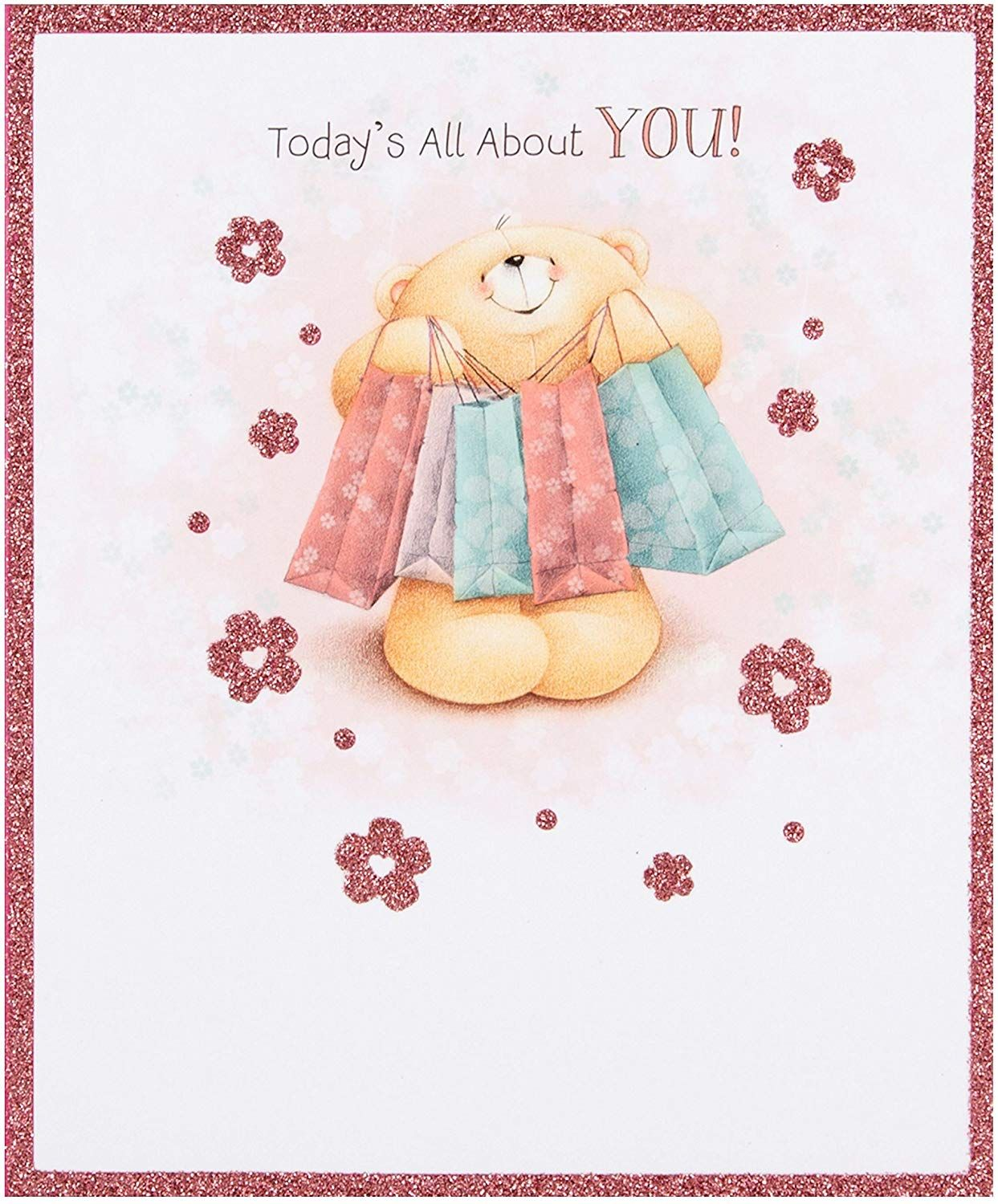 Hallmark forever friends birthday card all about you