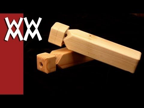 How to make a wood train whistle | Why pay for plans? | Woodworking