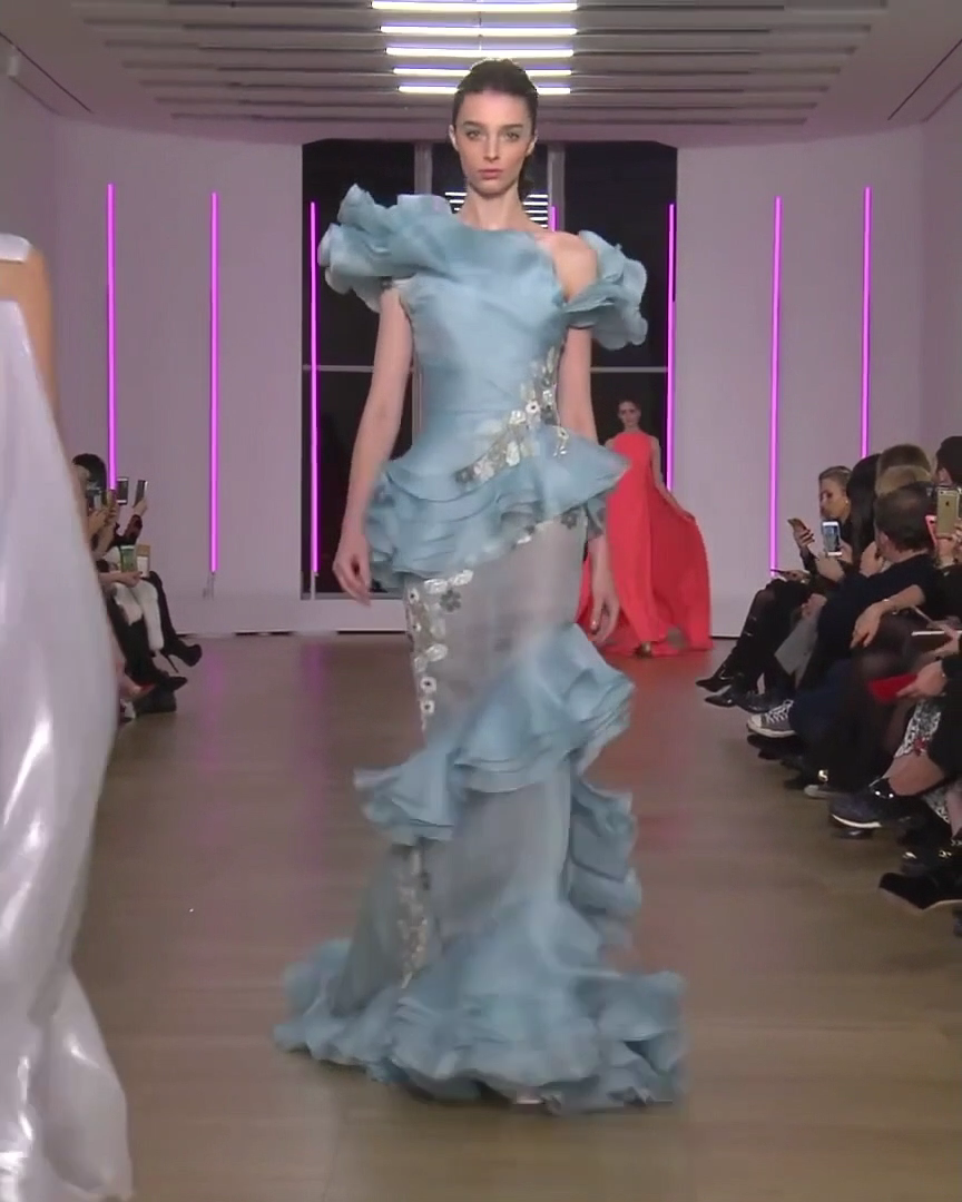 Georges Chakra Look 24. Spring Summer 2018 Couture