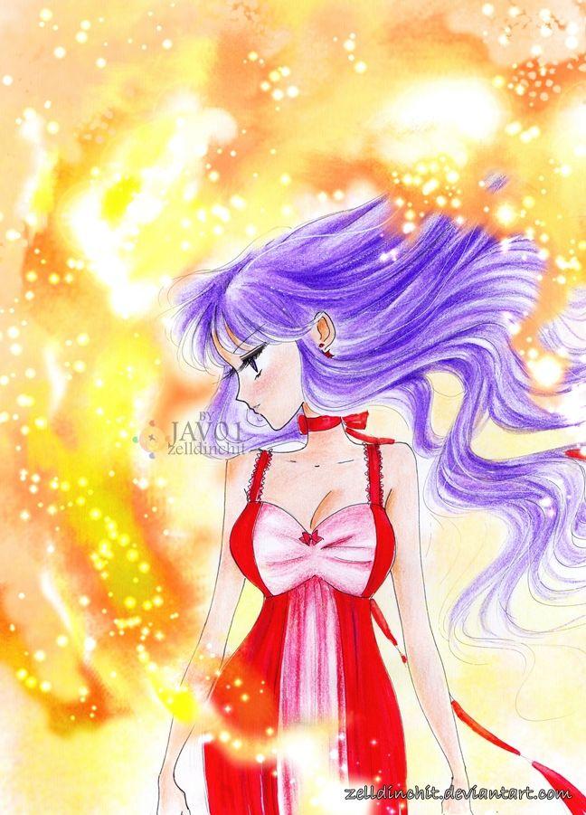 Princess Mars (Rei Hino) by zelldinchit - Sailor Moon fanart