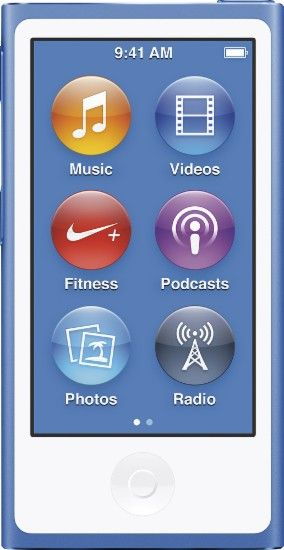 Apple Ipod Nano 16gb Mp3 Player 8th Generation Latest Model Blue Mkn02ll A Best Buy Ipod Nano Ipod Apple Ipod