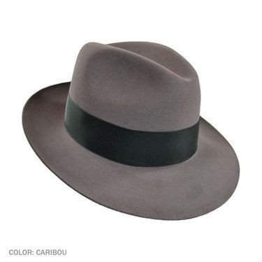 04c5048a6a829 coupon for stetson temple fur felt fedora hat caribou grey af72b 09878