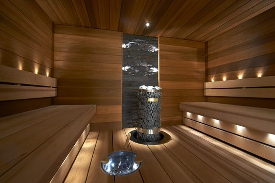 Sun Saunan Relax Laudemalli Jattilaistuijaa Vastakkain Istuttava Laude Harvia Kivi Kiuas Upotuskauluksella Upotettu Loylykiu Sauna Lights Sauna Design Sauna