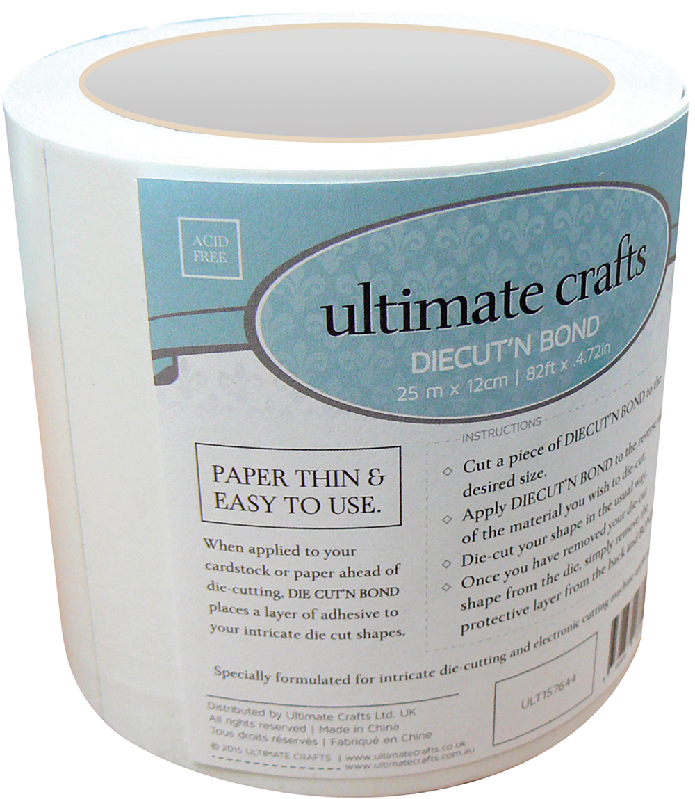 Ultimate Crafts Diecut N Bond Double Sided Tape 4 72 X 82 Clear Walmart Com Double Sided Tape Double Sided Adhesive Tape Double Sided Adhesive