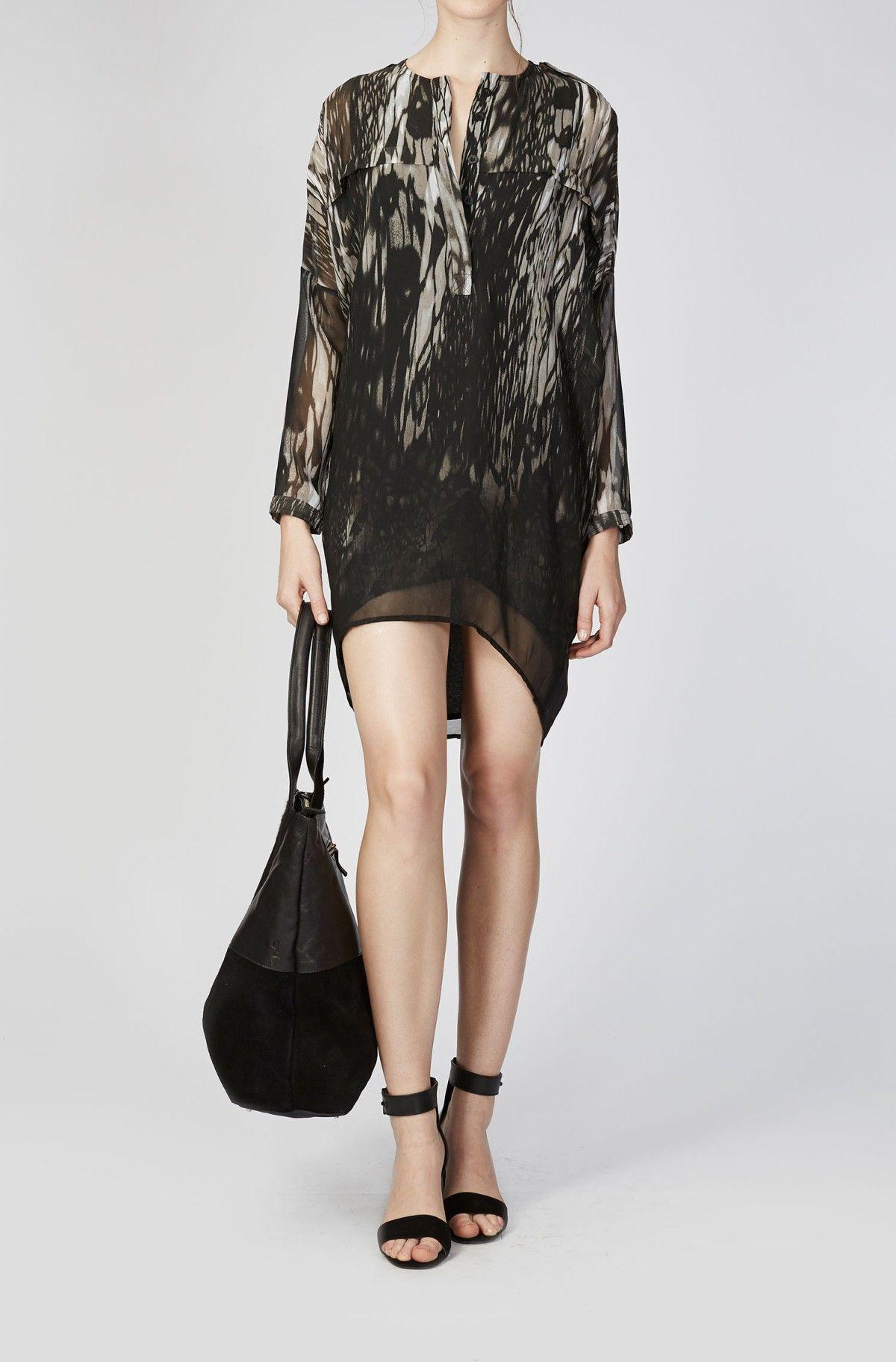 16af21388cc9 Shop the black 'Leader' dress in the Religion Clothing online sale ...