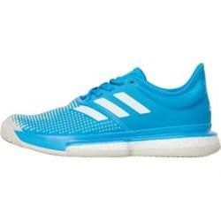 Photo of adidas Women's Solecourt Clay Tennis Shoes Turquoise adidasadidas