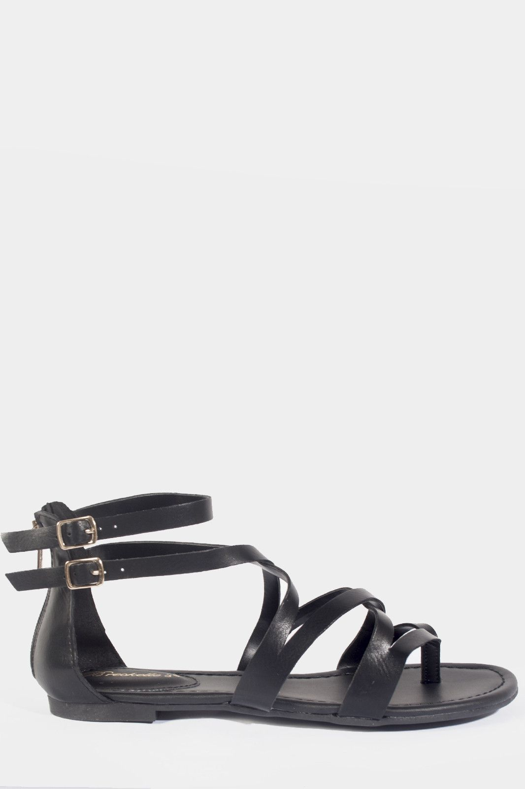 Open Toe Gladiator Sandal