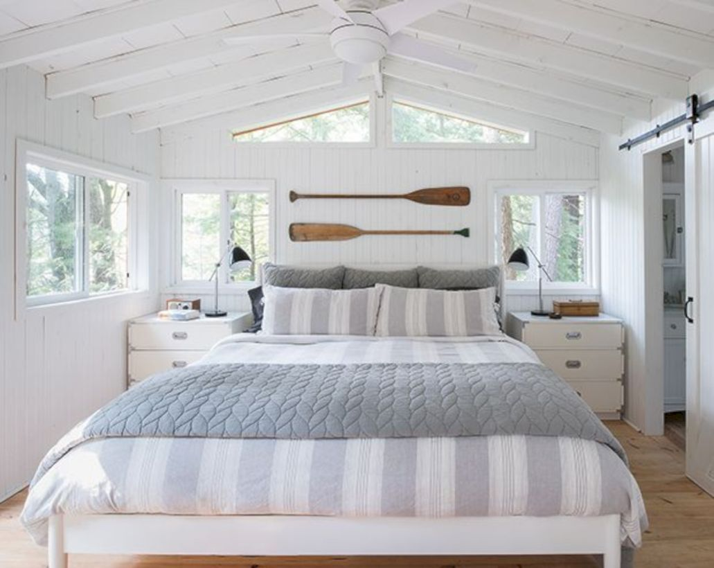 48 Astonishing Bedroom Décor Ideas With Cottage Style #coastalbedrooms
