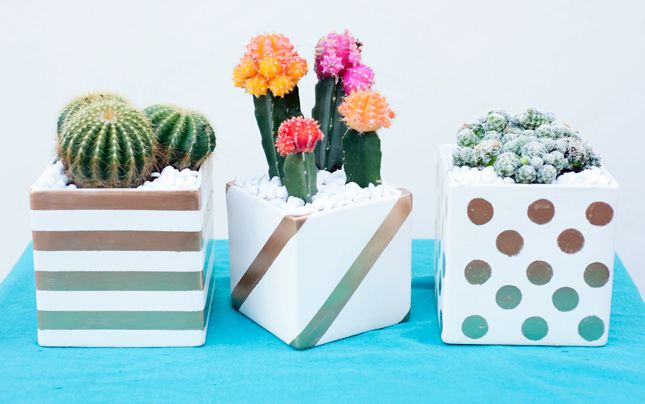 17 DIY Vases Sprouting Up as Our Faves via Brit + Co.