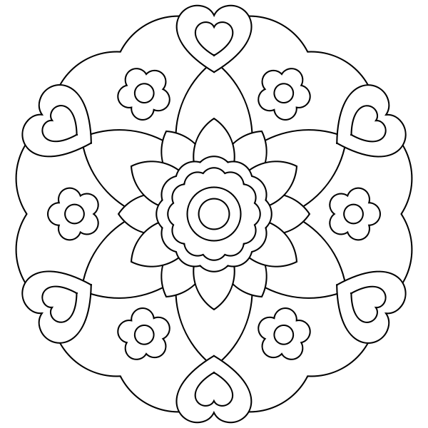 Free printable mandala coloring pages | Coloring Pages | Pinterest ...