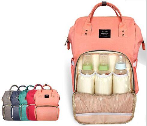 Fashion Mummy Maternity Nappy Diaper Bag Large Capacity Baby Bag Travel Backpack