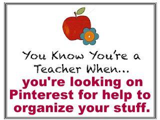 Organize Your Classroom Materials