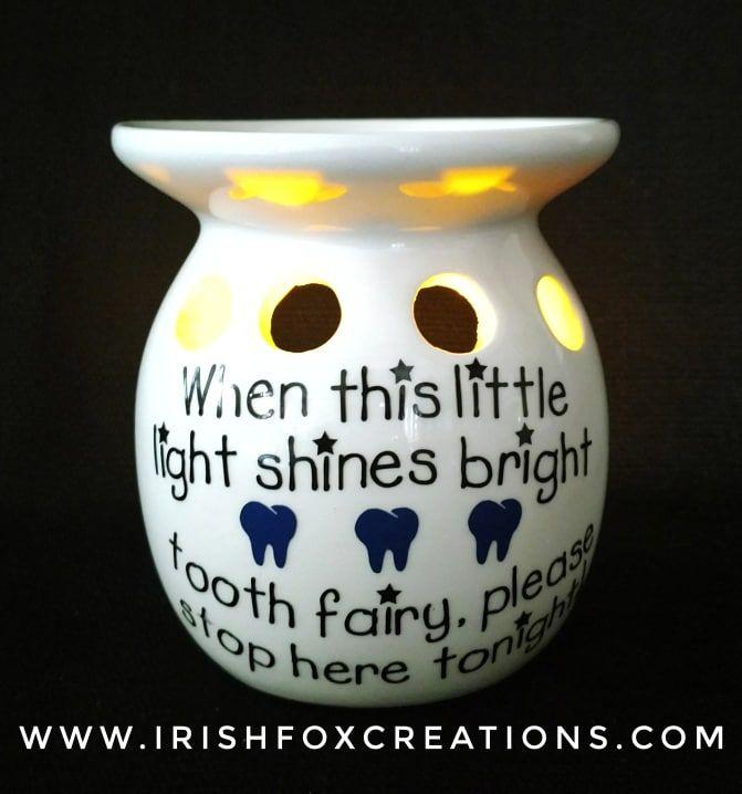Tooth Fairy Lights #toothfairyideas