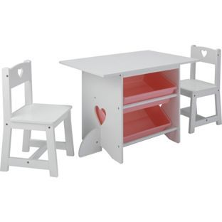 Buy Mia Table and Chairs - White at Argos.co.uk visit Argos  sc 1 st  Pinterest & Buy Mia Table and Chairs - White at Argos.co.uk visit Argos.co.uk ...