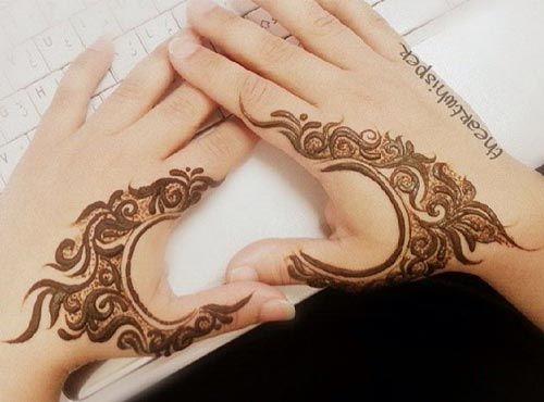 Simple Mehndi Henna Designs Legs : Inspired foot mehndi designs stylish and trendy