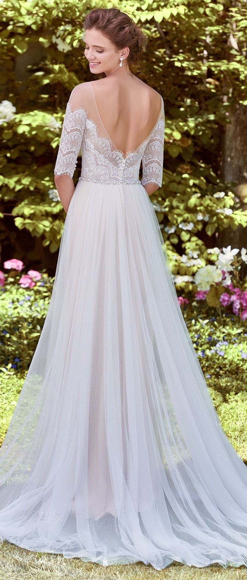 Maggie Sottero Wedding Dresses  Lace bodice Wedding dress and Weddings