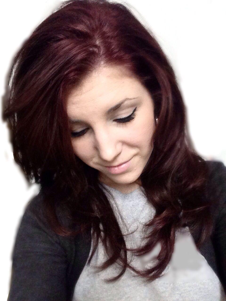 chocolate cherry hair red and brown hair hair