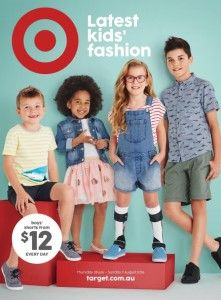 This ad for Target includes a young lady who has braces ...