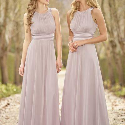 H98 halter chiffon bridesmaid dresses, cheap bridesmaid dresses ...