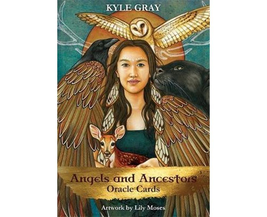 Angels and ancestors oracle cards a 55card deck and