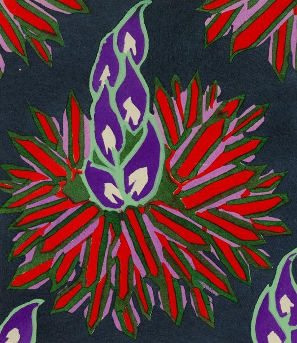 image 20 from Floreal, Dessins et Couleurs Nouveaux by Eugene A. Seguy. Paris: Calvas, [1927?]. Call No. NK 1332.S45 oversize.